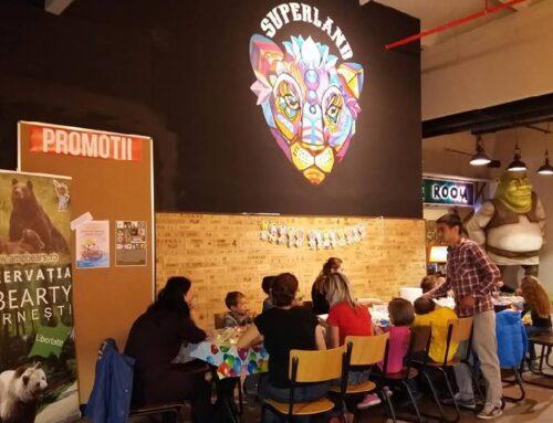 50 de copii au sărbătorit Ziua Mondială a Animalelor, la Superland